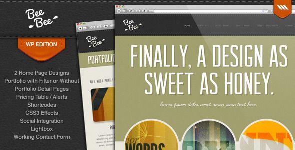 Bee Bee Premium WordPress Theme