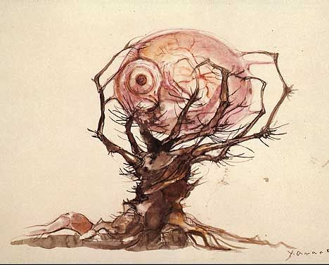 Ralph Steadman: Tree, They Love Art, Search, Illustration, Steadman Ralph, Artist, Ralph Steadman Gonzo, Photo, Steadman Art