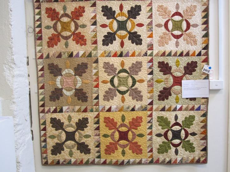 225 best Oak Leaf and Reel quilts images on Pinterest Quilt block patterns, Quilt patterns and ...
