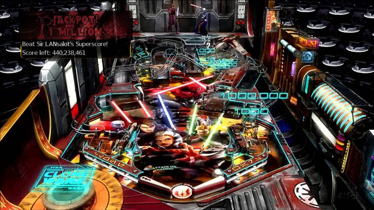 Pinball FX 2 - Star Wars Pinball: Clone Wars Table - Quick Look