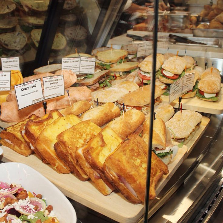 Sandwiches are huge & only $7.99 at #Meinhardt corner of Granville/Dunsmuir