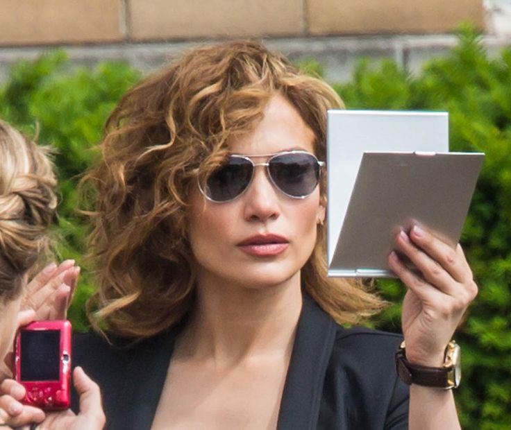Jennifer Lopez Films 'Shades of Blue' In NYC ...