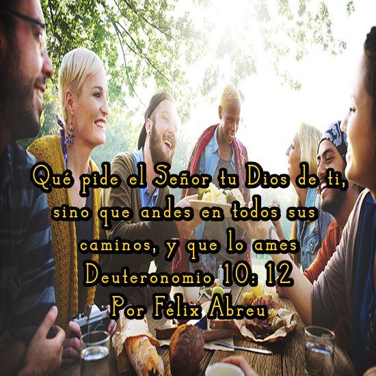 Imágenes Cristianas : DEUTERONOMIO 10:12