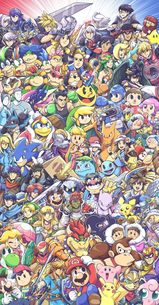 Super Smash Bros Free Hd Widescreen Consola De Juegos Wii U Smash Bros