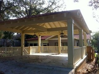 19 best carports images on pinterest carport garage for Free standing carport plans