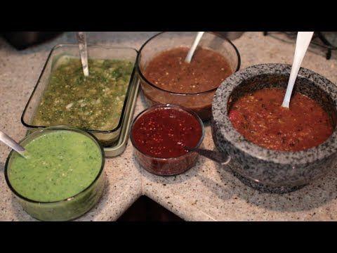 COMO HACER SALSAS DIFERENTES | CocinandoConJuanita - YouTube