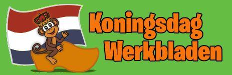 Koningsdag Werkbladen