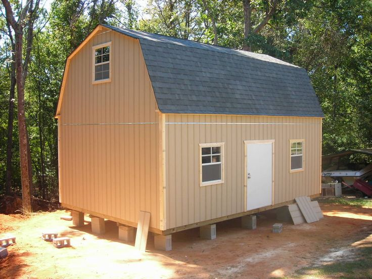 Two Story Shed To A Tiny House