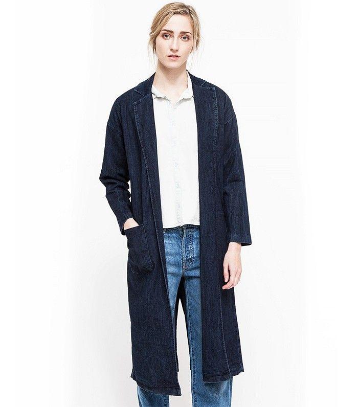 Denim is always in style: Which We Want Traveller Coat in Denim