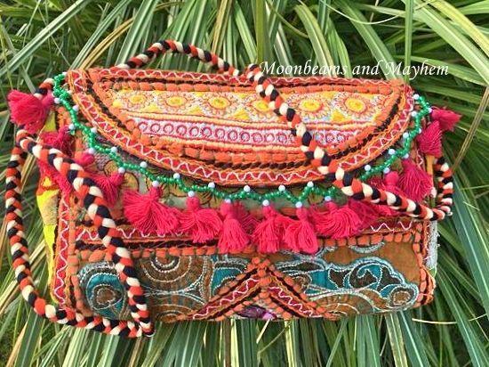 FAB NEW BOHEMIAN SHOULDER CLUTCH BAG HIPPIE FESTIVAL BOHEMIAN URBAN PURSE IBIZA | eBay