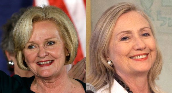 Via one of my students: Claire McCaskill endorses Hillary Clinton for 2016 - Katie Glueck