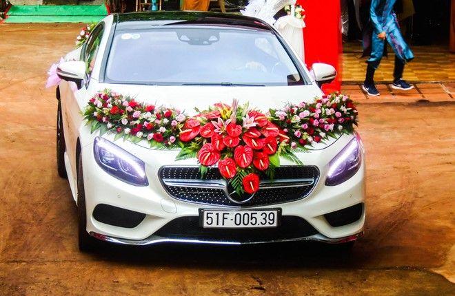 Gía Xe Mercedes S400 - 0945 777 077: Mercedes S Class coupe hơn 7 tỷ làm xe hoa ở Đắk Lắk