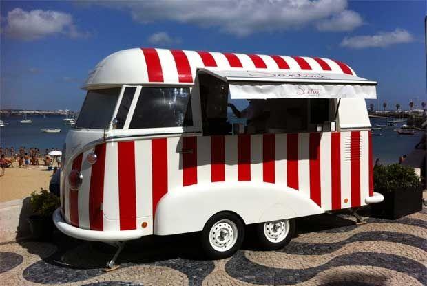 Os gelados Santini vão à praia na Vantini