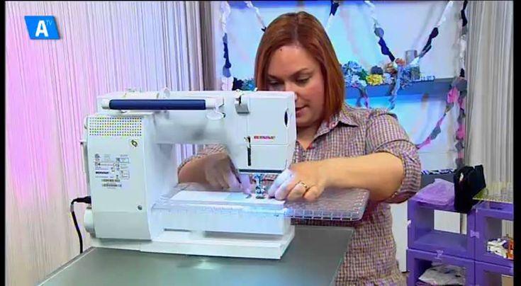 LA EXPLANADA. Alicante Craft. Tutorial de costura con hilo elastico