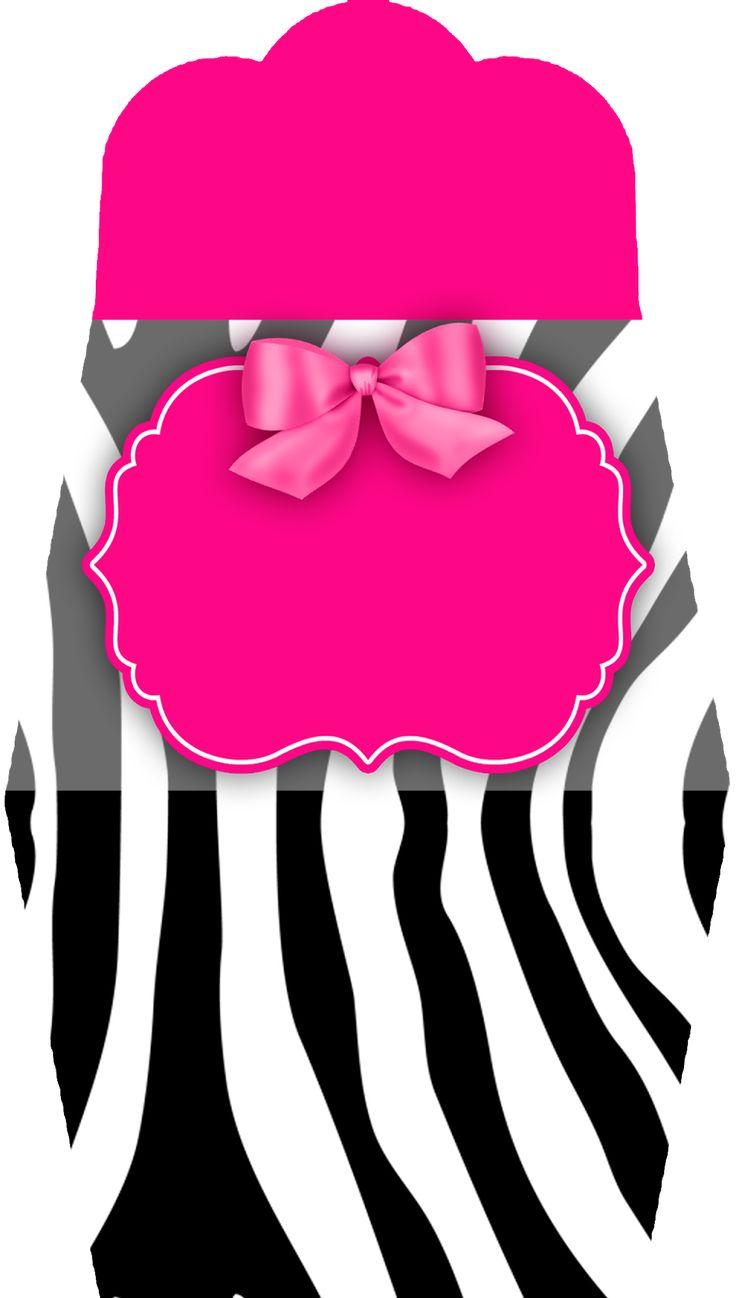 Montando minha festa: Zebra rosa e preto