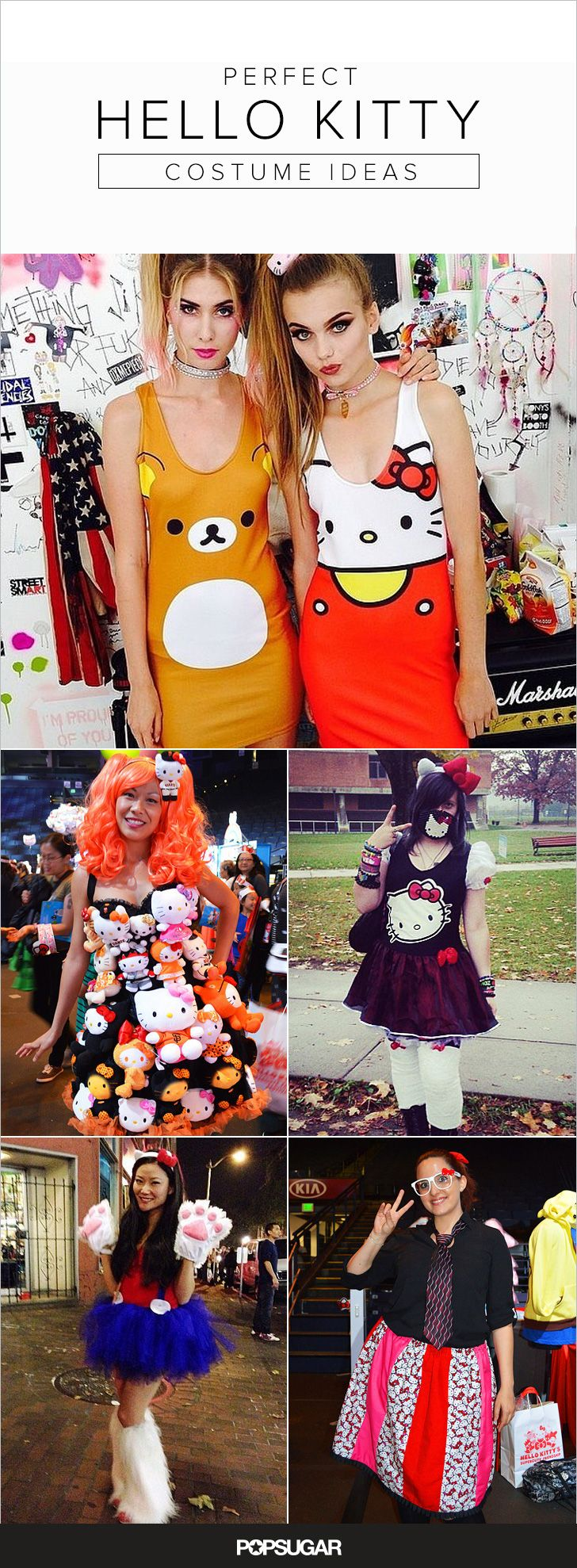 There's no better costume than a Hello Kitty costume for Halloween