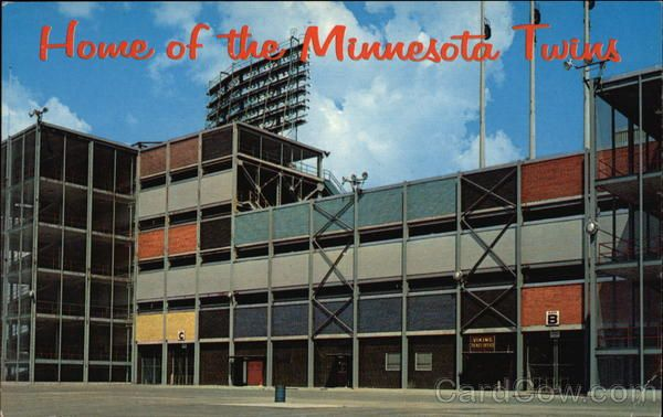 Old Met stadium in Bloomington, MN