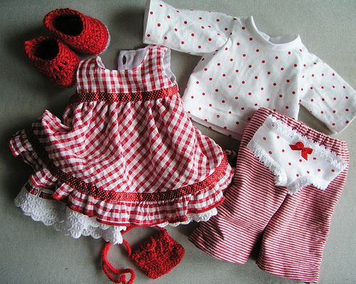 Clothes for waldorf doll