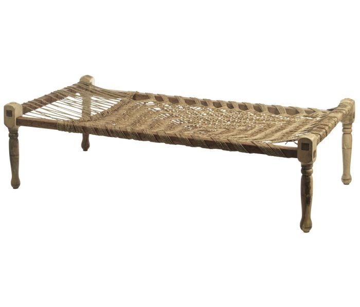 Deens.nl 225,- Touwbed 'India' | .CHARPOY .DAYBED | Pinterest