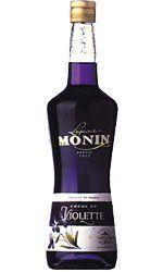 From 12.01 Monin Creme De Violette (violet) Liqueur 70cl Bottle