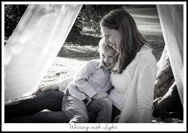 Mother and son black and white Narellan Sydney photography studio. family photography | Changing of Seasons