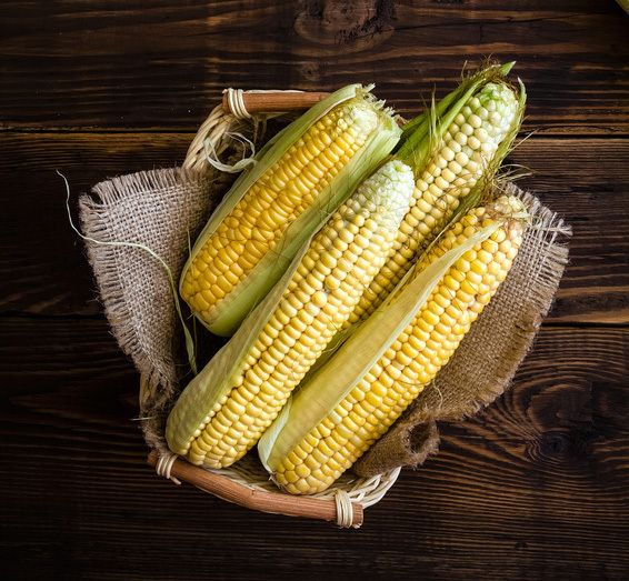 When you boil fresh corn cobs, add 1 Tbsp of sugar to the water so that the corn will become sweet.  And to remove the corn stings from the cob carefully take a wet towel or cloth and rub the corn gently this will help remove them...then you can go ahead and try one of my favorite recipes!!  Corn on the cob with bacon and parmagiano!!!