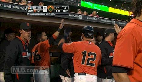 Here are all the coolest MLB handshakes you can steal to celebrate National High Five Day