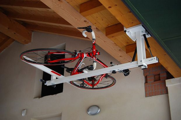 Easy Come, Easy Go: Flat-Bike-Lift Storage System | First Look http://stupidDOPE.com/?p=343141 #stupidDOPE