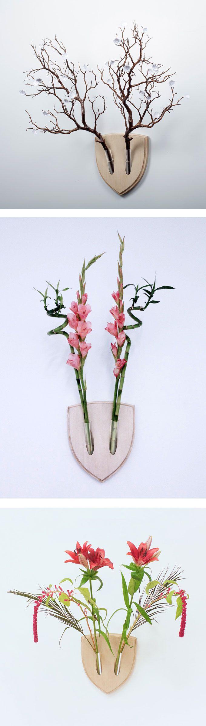 Inspirati all'Ikebana, l'arte giapponese della disposizione dei fiori recisi