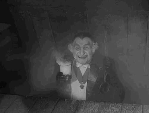gif the munsters videos | the munsters grandpa munster animated GIF