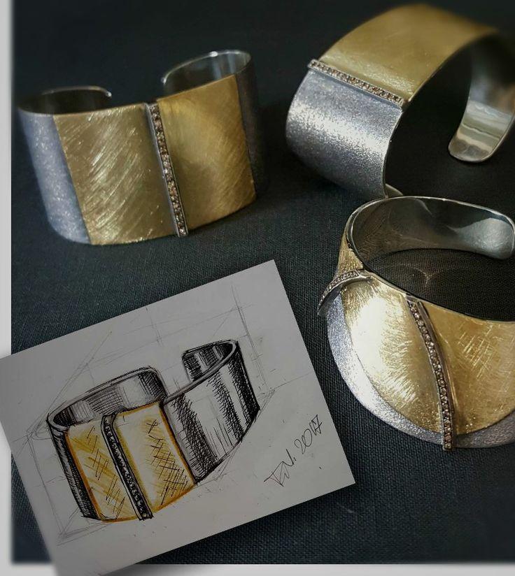 bracelet jewelery gold silver diamond @urart