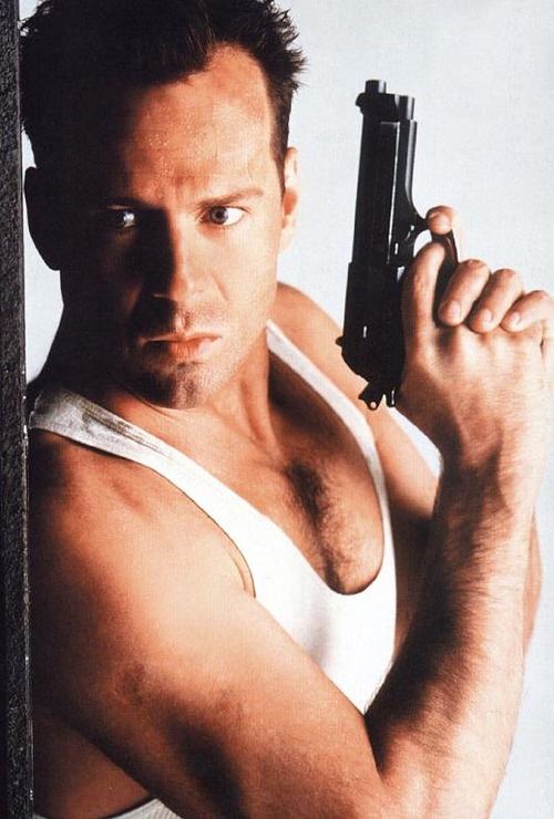 """""""Yippee-ki-yay, motherf*****"""" - John McClane /  Best movie quotes of all time - Bruce Willis in Die Hard (1988)"""
