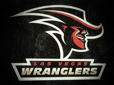 Wranglers Concept by Fraser Davidson #logo | American Sport Theme Logo