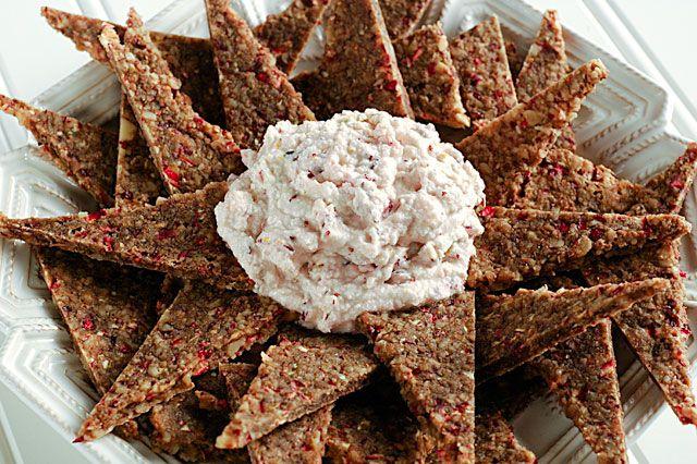 Raw Food Recipes: Walnut Crackers