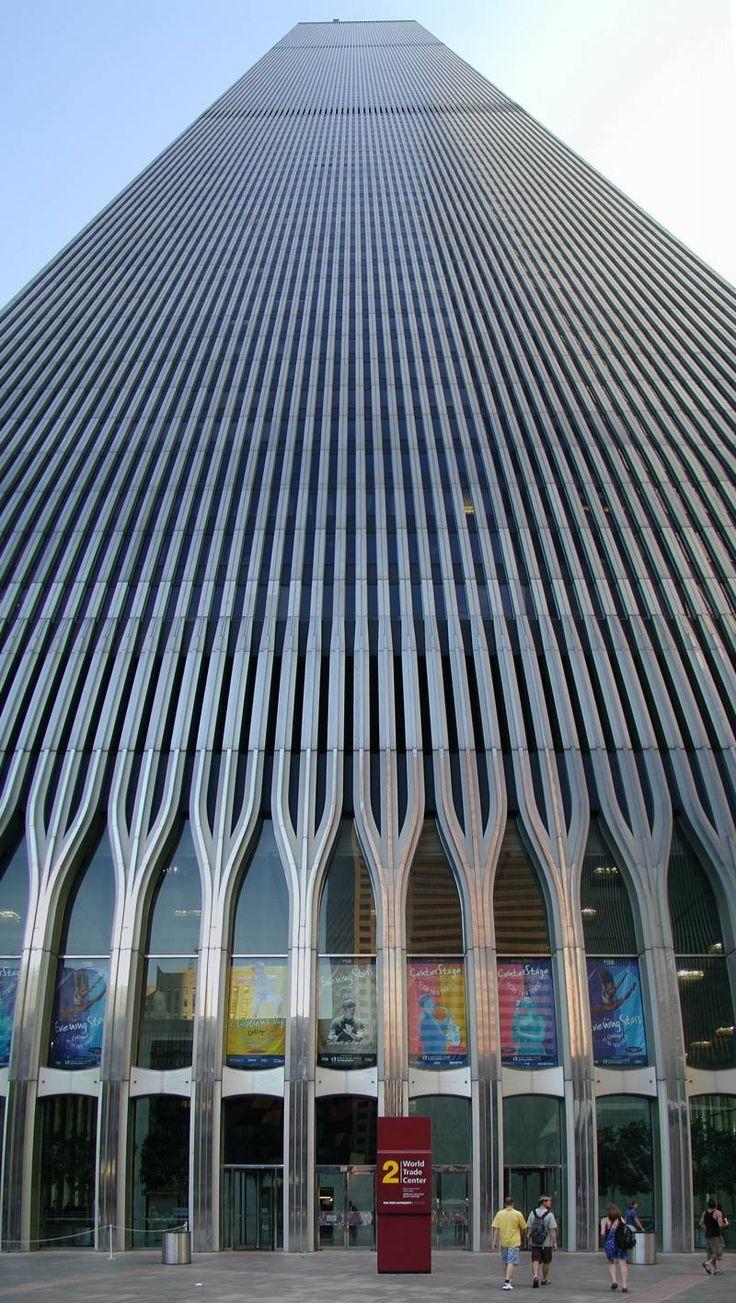 World Trade Centre Tower 2 • New York • Minoru Yamasaki • 1972