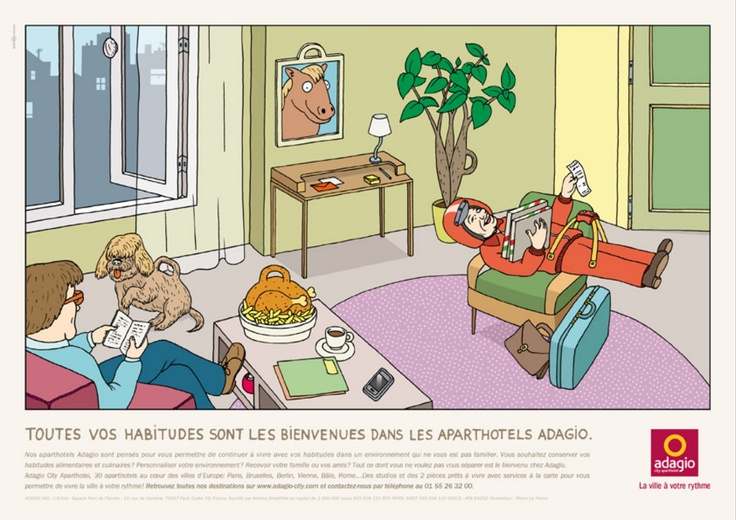Adagio - Les habitudes