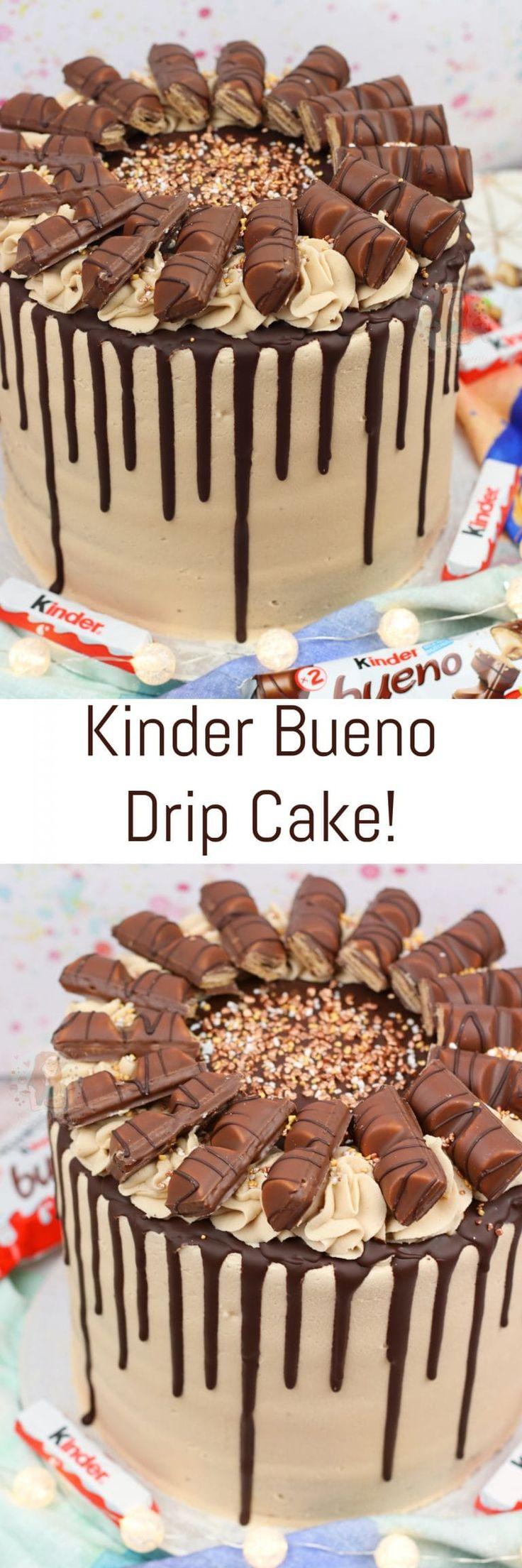 Kinder Bueno Drip Cake! – Jane's Patisserie – Recepies