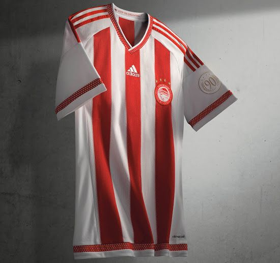 OLYMPIACOS 2015-2016 HOME KIT