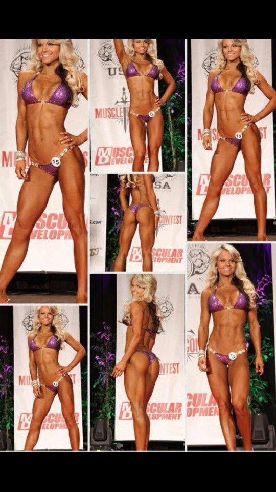 Seriously. Best legs and butt. IFBB Bikini Pro Justine Munro. #bodybuilder
