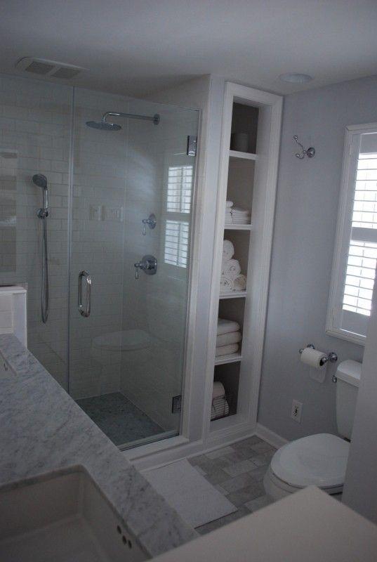 Die besten 25+ Bathroom linen tower Ideen auf Pinterest Kleine - handtuch schrank badezimmer