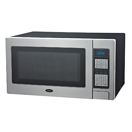 Oster Stainless Steel 1000 Watt Microwave Oven