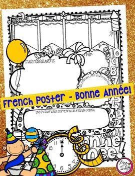 Bonne Année! French Poster