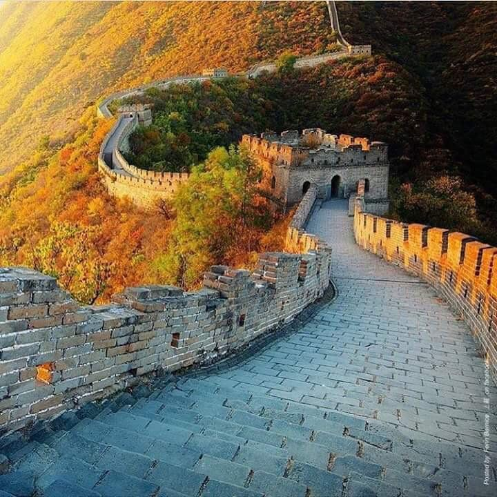 Great Wall of China, via TW by Julia ‏@julia_zba