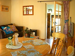 Inside the Nest romantic holiday cottage South Devon