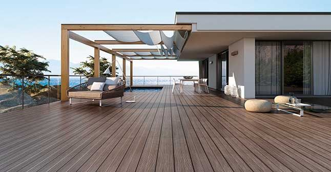 11 best images about terrasse on pinterest wooden decks for Carrelage exterieur terrasse