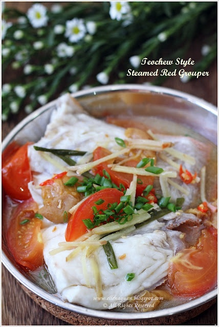 Steamed Teochew Style Red Gouper