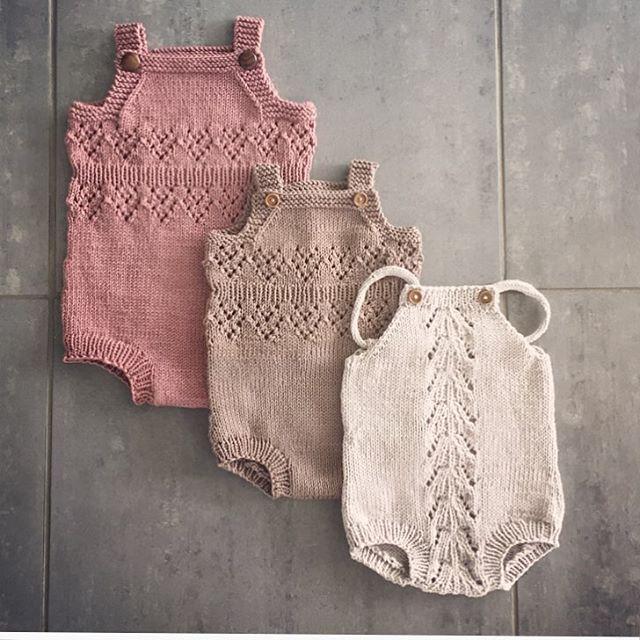 I ❤️ rompers! #romper #knitting #knitting_inspiration #babyknits #knitwear…