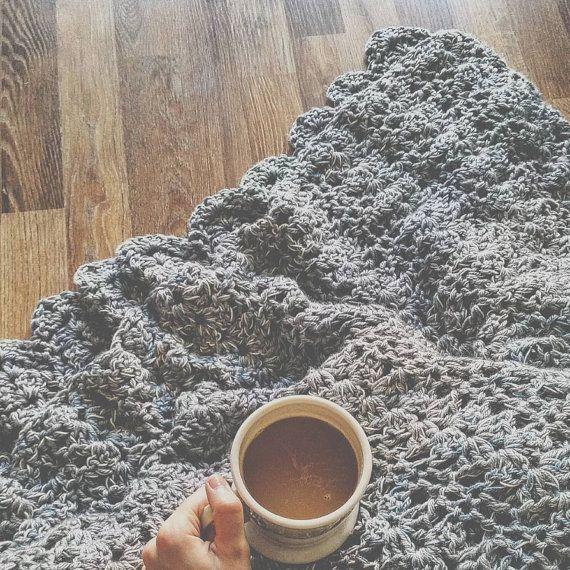 The Sunday Morning Blanket  Crochet Pattern by AbigailRoseCrochets
