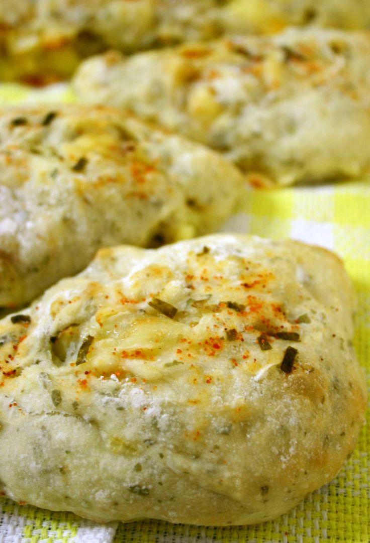 こねないパン◇ジャガ芋とチーズのリュス
