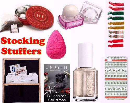 Stocking Stuffer Ideas for Her - Small gifts for women, girlfriends and female friends